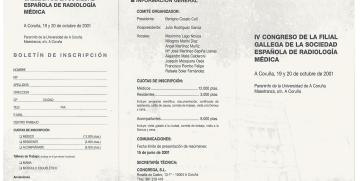 IV Congreso SGR 2001 A Coruña